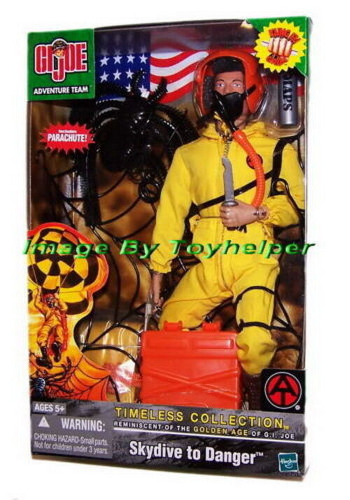 GI Joe Timeless Collection Skydive To Danger Kung Fu Gr FAO Exclusive MISB HG