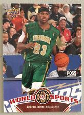 Lebron James 2010 Upper Deck World of Sports Basketball Card #1 - Cleveland Cavs