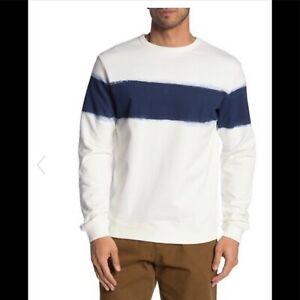 slate /& stone  XL Men/'s Sweater  Pullover  long sleeve   blue gray mm