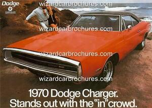1970 DODGE CHALLENGER R//T A3 POSTER AD ADVERT ADVERTISEMENT SALES BROCHURE MINT