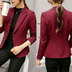 New-Fashion-Women-Elegant-Slim-Casual-Business-Blazer-Jacket-Suit-Coat-Outwear
