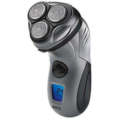 AEG Afeitadora eléctrica uso en ducha batería recargable cortapatillas HR 5655