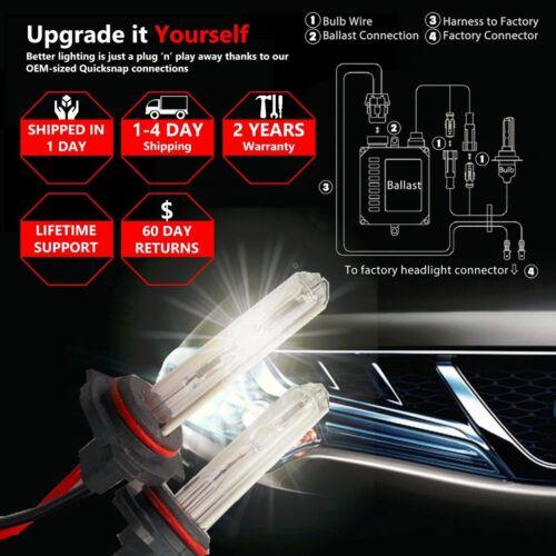 HID Xenon Ballasts 35W Conversion Kit Bulbs For 9005 9006 H3 H4 H7 H8 H9 H11 H1