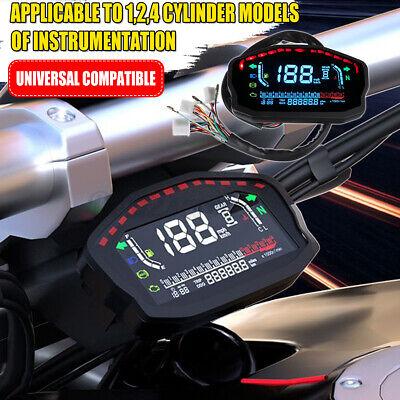 Universal Motorcycle LCD Display Instrument Speedometer Odometer Tachometer Meter Gauge Motorcycle Tachometer