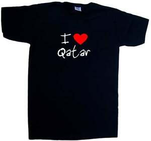 I-Love-Heart-Qatar-V-Neck-T-Shirt