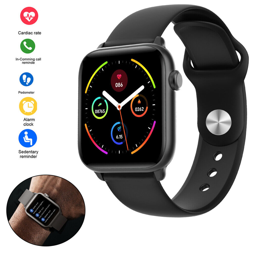 2020 New Bluetooth Smart Watch Fitness Tracker Pedometer fits for Android iOS android bluetooth Featured fitness fits for new pedometer smart tracker watch