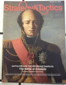 Strategy-and-Tactics-The-Battle-of-Eckmuhl-Unpunched-No-114-Sept-Oct-1987