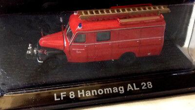 Scala 1:72 DeAgostini LF 8 HANOMAG AL 28 Rosso Nuovo