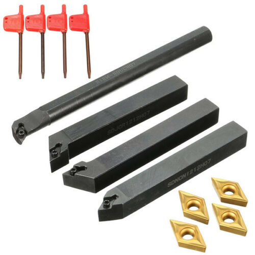 4pcs S12M-SDUCR07 SDJCR1212H07 SDJCL1212H07 SDNCN1212H07 Turning Tool Holder