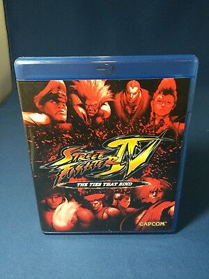 Street Fighter Iv The Ties That Bind Blu Ray Soundtrack Cd 2