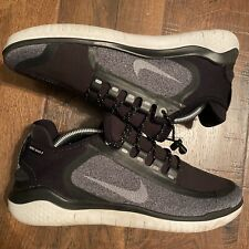 Nike Free RN 2018 Shield AJ1977-001 Black White Cool Grey Men/'s Running Shoes