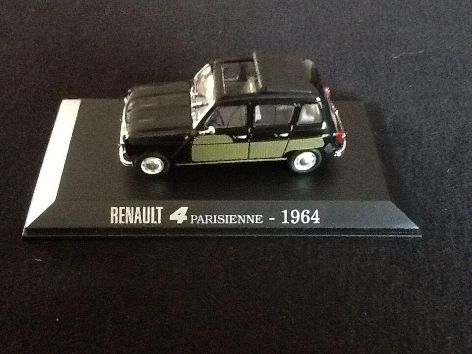 Lot de 5 Renault 4 La Parisienne (1964)