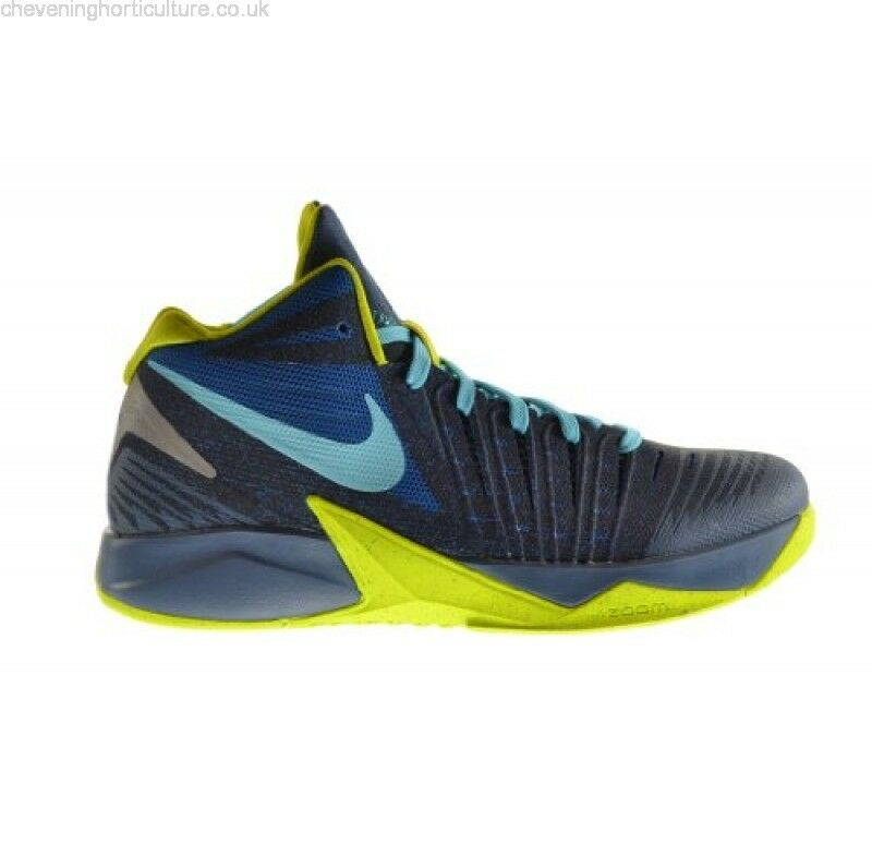 NIKE ZOOM I GET BUCKETS MILITARY BLUE GREEN BASKETBALL Price reduction