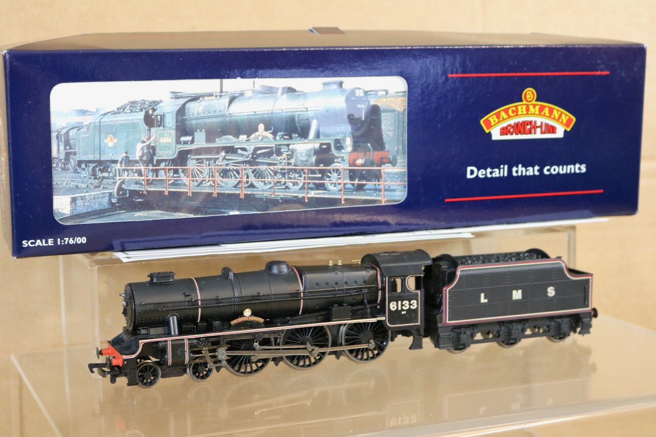 BACHMANN 31-226 LMS 4-6-0 REBUILT SCOT CLASS LOCO 6133 The GREEN HOWARDS nl