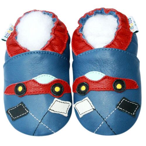 Boys Baby Toddler Infant Kids Shoes Children Mocassin Crib RacingCar 6-12M