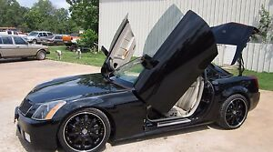 Image is loading Cadillac-XLR-2004-2009-Vertical-Doors-inc-BOLT- & Cadillac XLR 2004-2009 Vertical Doors inc. BOLT ON lambo door kit OR ...