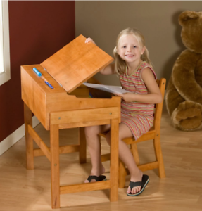 Image Is Loading Desk Sets For Kids Chair Wooden Student Home