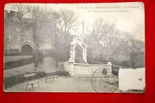 BOULOGNE SUR MER MONUMENT DU SOUVENIR FRANCAIS ET LE JARDIN 1906 PAS DE CALAIS