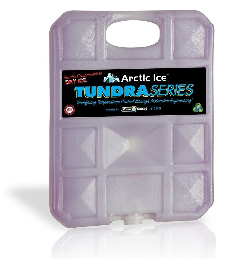NEW Arctic Ice Tundra Series -15° P.C.M. Reusable  5.0 lb Cooler Ice Substitute  factory direct
