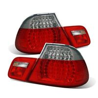 Cg Bmw 3 Series E46 99-00 Coupe Led Tail Light Set Red/clear 4 Pcs on sale