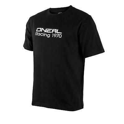 Beminnelijk O'neal Racing Freizeit T-shirt Schwarz Basic Freizeit Herren Damen Mx Supermoto