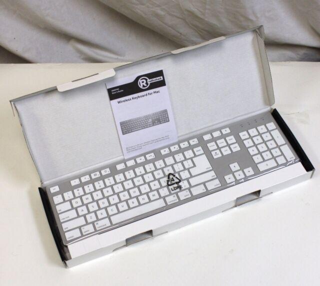 e62b0a8f184 NEW Wireless Keyboard for Mac by Radio Shack, 2.4GHz w Low Profile Nano  Receiver