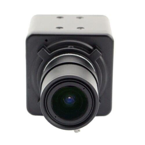 CMOS OV2710 Video Surveillance CCTV Box Camera 5-50mm varifocal lens USB Camera