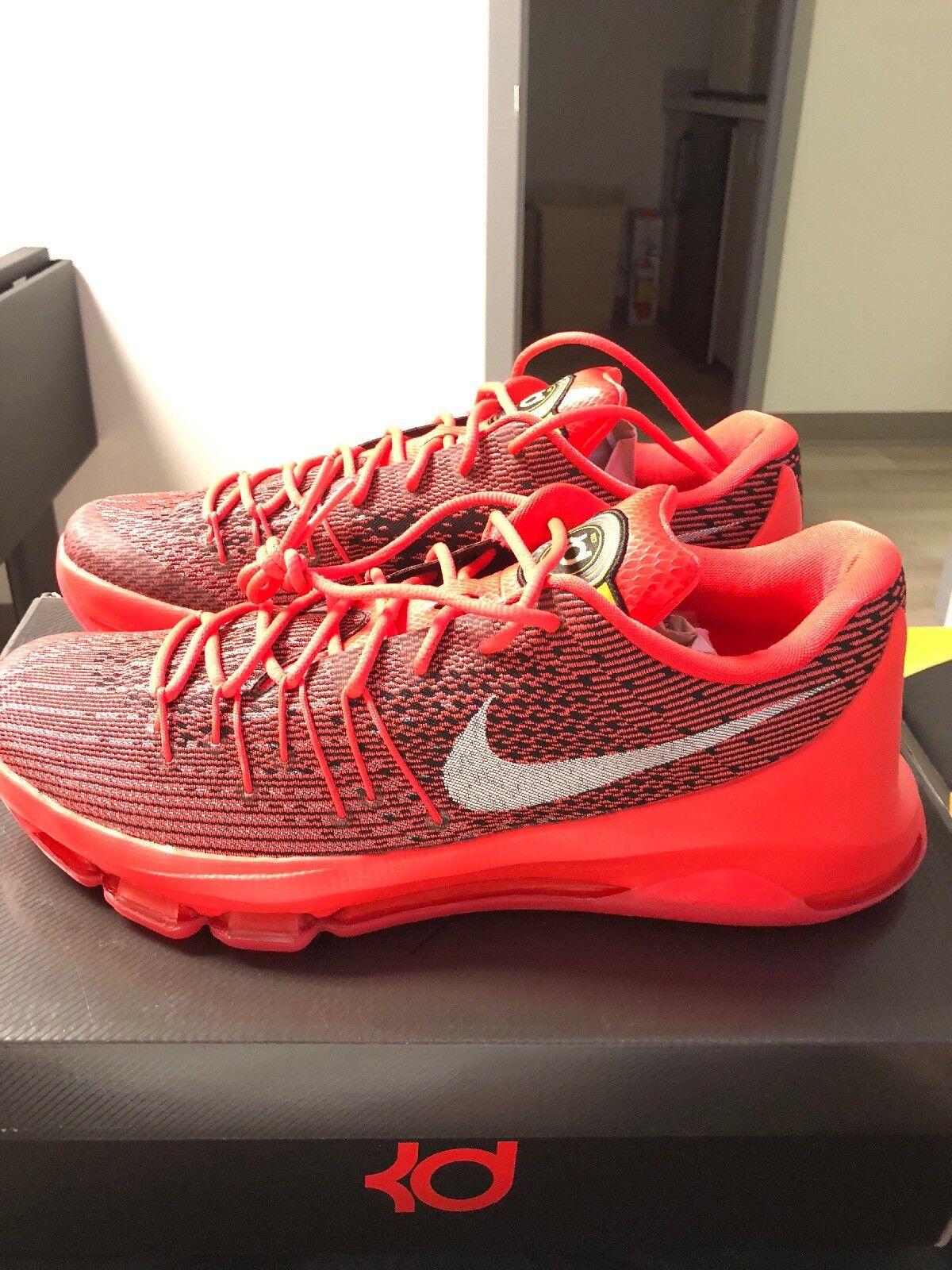 Nike KD Viii Red EYBL Ds 12