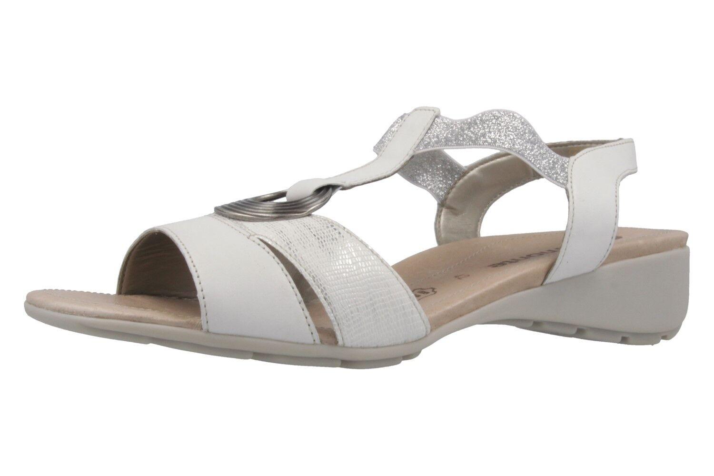 Remonte Sandalen in Übergrößen große Damenschuhe Weiß XXL  | Online Shop