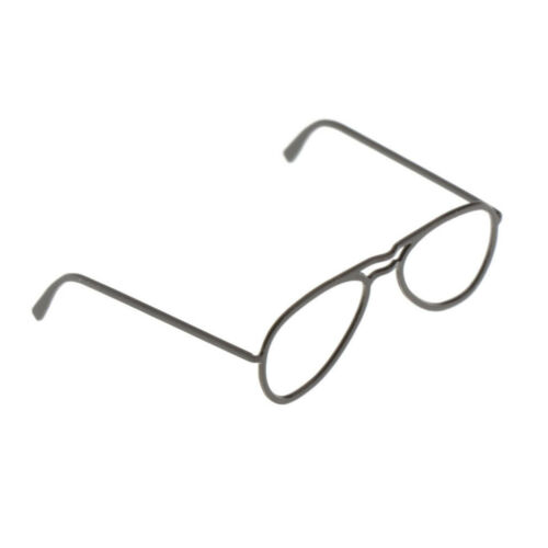 1:6 Scale Glasses Frame for 12inch Action Figures Male Female Soldiers Black
