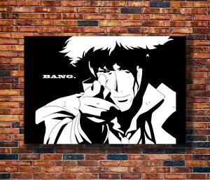 Art-Cowboy-Bebop-Spike-Jet-Japanese-Anime-20x30-24x36in-Poster-Hot-Gift-C641
