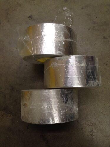 "50yd? 74mm 3 rolls of 3M Aluminum Foil// Reinforced Duct Tape 1430 3/"""
