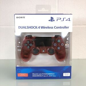Sony PS4 DualShock 4 Controller Per Sony PlayStation 4-Rosso Crystal NUOVO CON SCATOLA