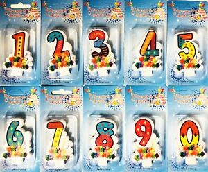 Lovely Birthday Cake Toppers Number Candles Party Candle