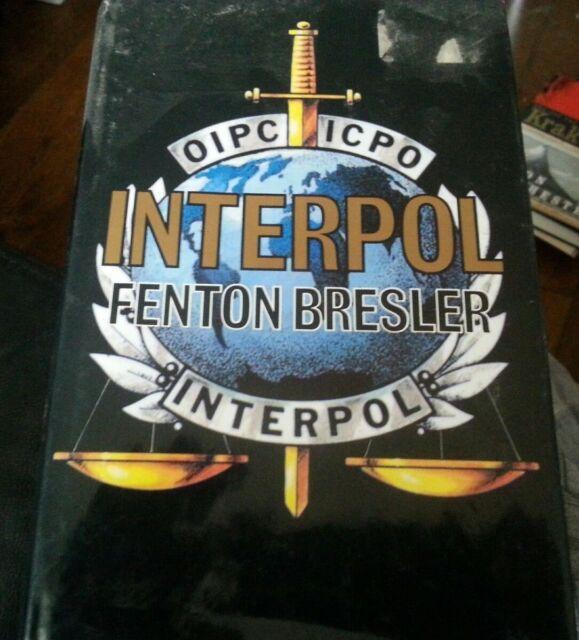 Interpol by Fenton S. Bresler (1992, Book, Hardcover Book ENGLISH Police