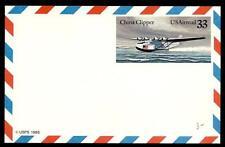 USA - STATI UNITI - Aerogramma - 1985 - Idrovolante Martin M-130 China Clipper