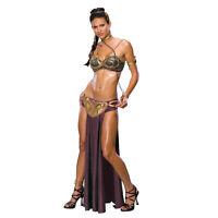 Adult Sexy Star Wars Princess Leia Slave Fancy Dress Party Halloween Costume
