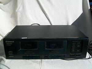 Pionner-Stereo-Double-cassette-deck
