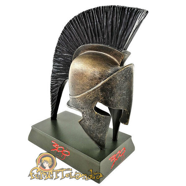 300 - Elmo Spartan Leonidas 14cm Resin Handbemalt Sammlerstück - Seltene