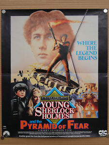 young-sherlock-holmes-and-the-pyramid-of-fear-uk-video-shop-film-poster