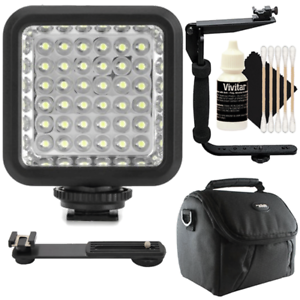 Vidpro Professional Photo And Video 36 Led Light With Accessory Kit