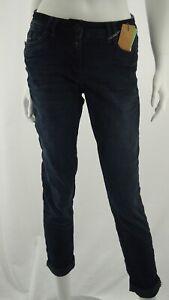 Cecil Scarlett Dark Blue Denim With Decor Item-No. B373368 Jeans Denim New