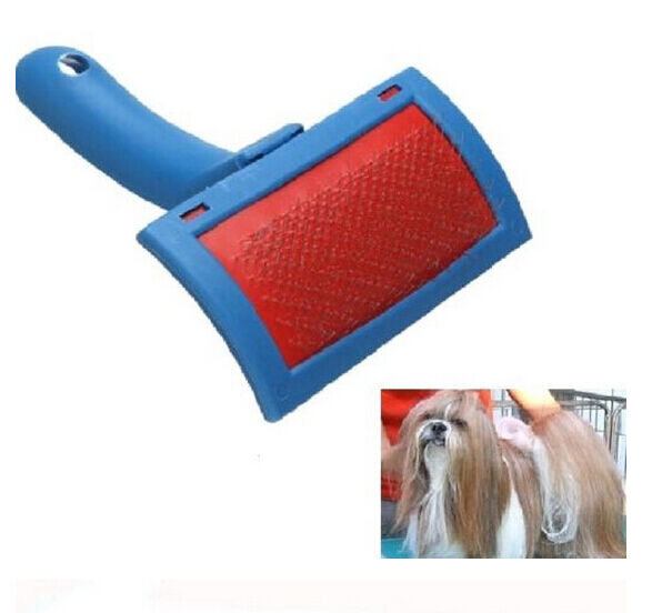 FD982 Pet Dog Cat Hair Flea Shedding Groom Pin Brush Slicker Comb Tool ~1pc~ :)