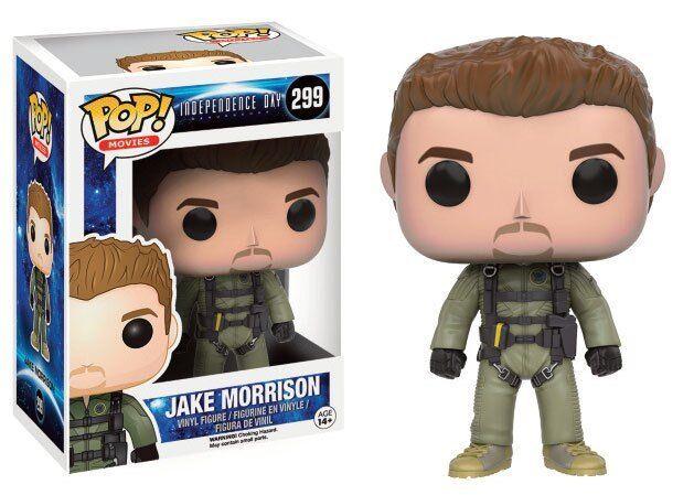 Independence Day 2 Figurine POP  Movies Vinyl Jake Morrison 3 1 2in Funko 299