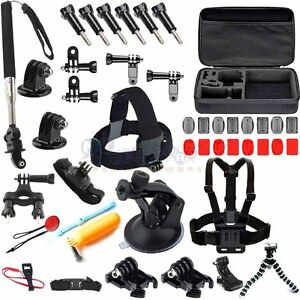 43 in1Chest Head Mounts Floating Monopod Accessories Kit For GoPro 3 4 5 Camera