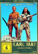 DVD-BOX NEU/OVP -  Karl May - DVD-Collection 3 - Winnetou 1, 2 und 3
