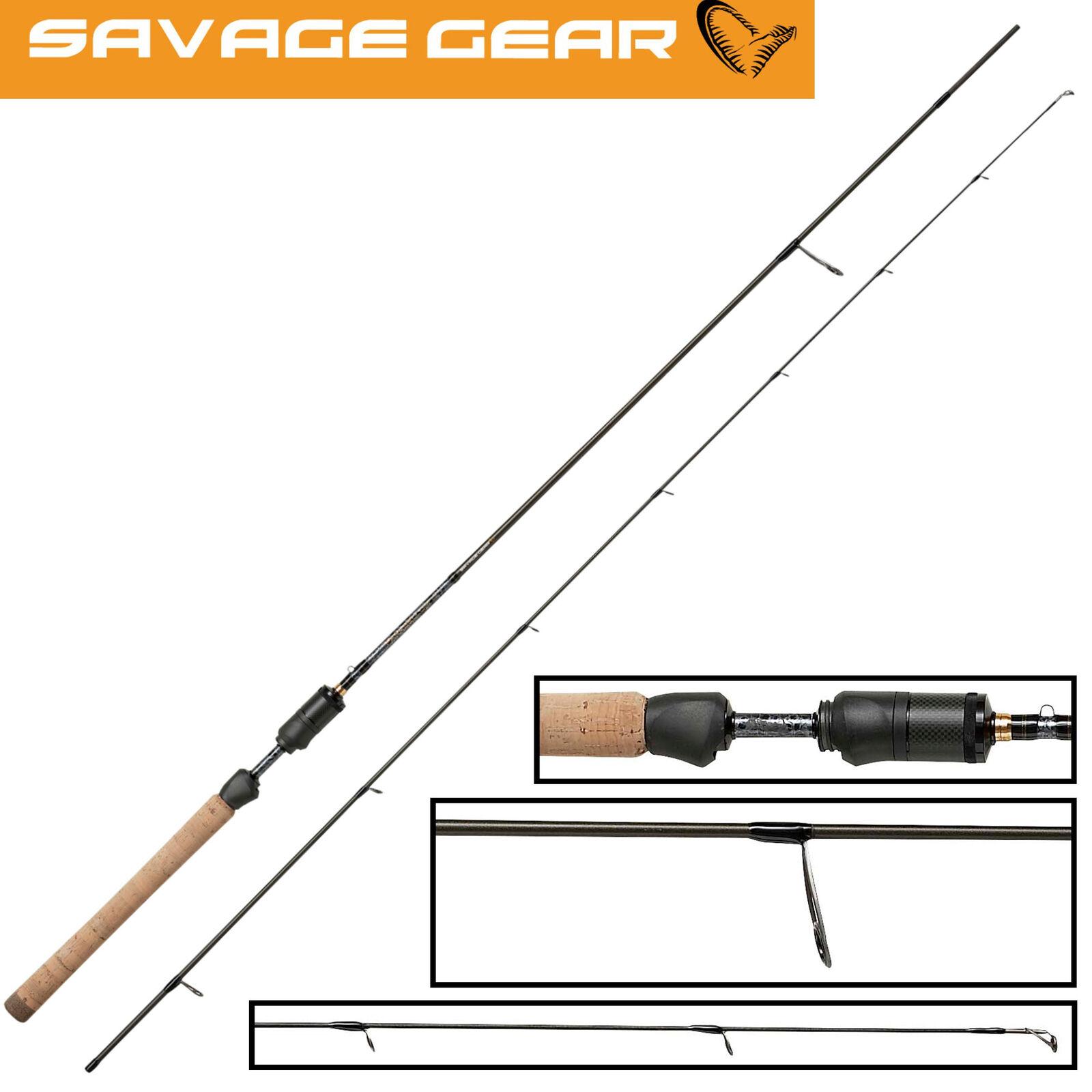 Savage Gear Parabellum CCS UL 2,15m 2-6g - Ultra Light Rute zum Forellenangeln