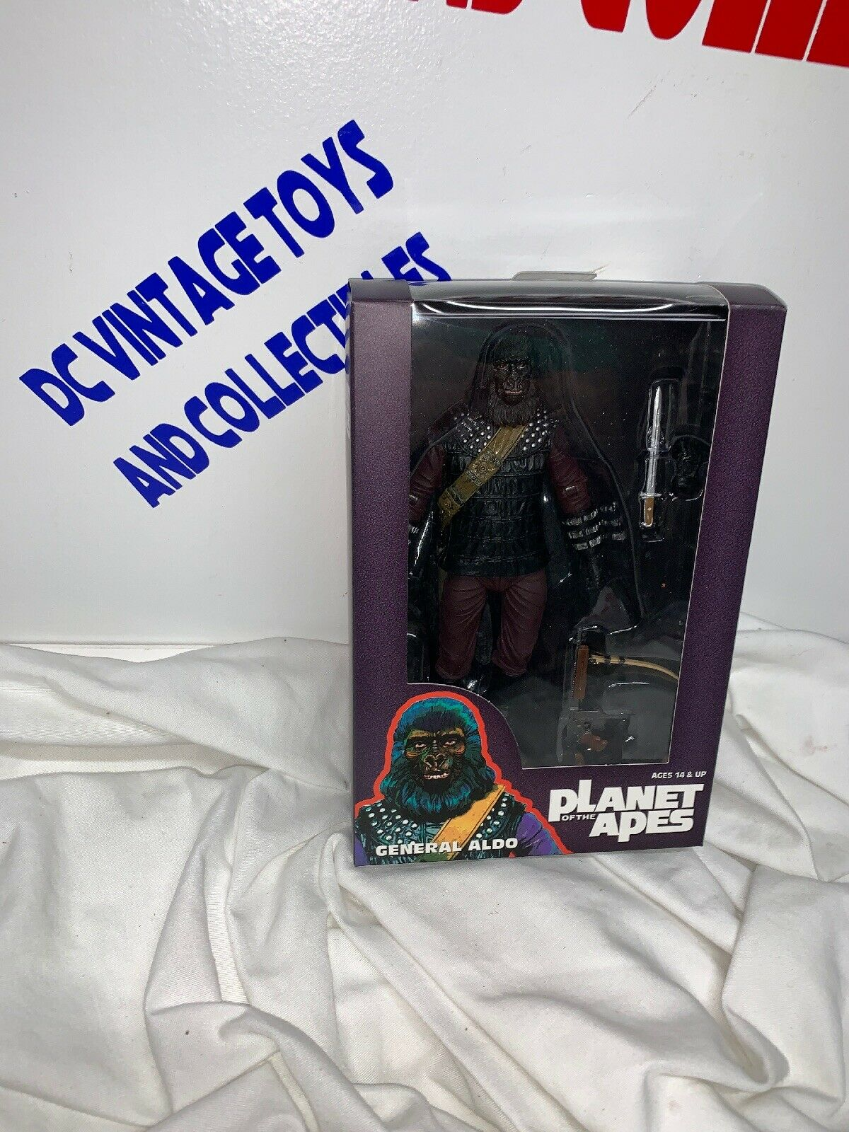 NECA Planet Of The Apes Classic General Albo SDCC 2015 Exclusive