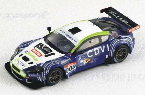 Spark SF027 - ASTON MARTIN DBR9 Team LMP Motorsport n 009 GT Tour 2011 Paillard