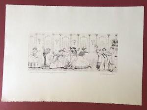 Herbert-Grunwaldt-Damen-die-Radierung-1993-handsigniert-und-datiert